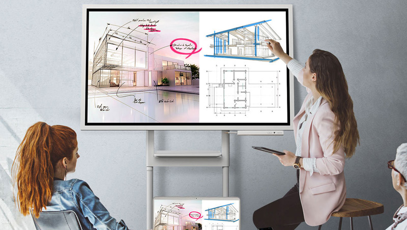home flip présentation samsung dynamic view