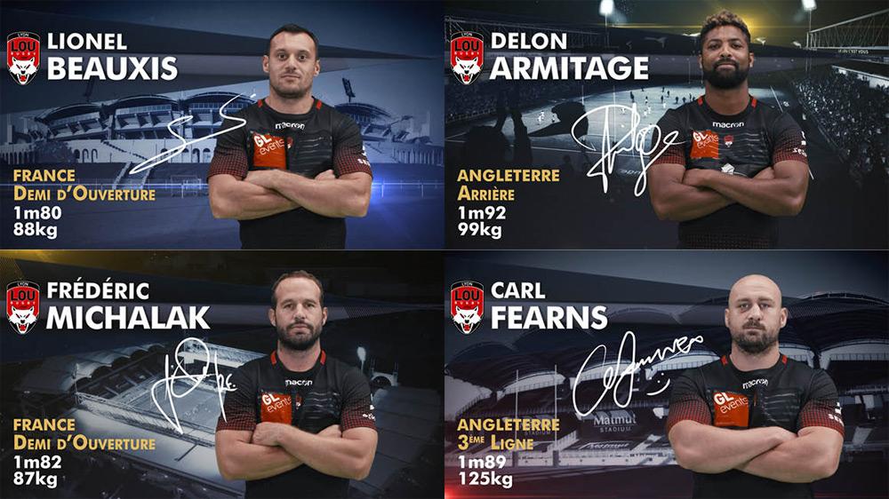 LOU rugby découvrez les nouvelles pastilles vidéo par Dynamic View
