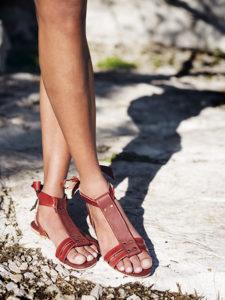 sandales marieA nomad bordeaux