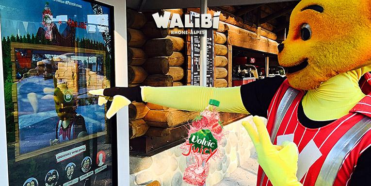 Walibi volvic mascotte