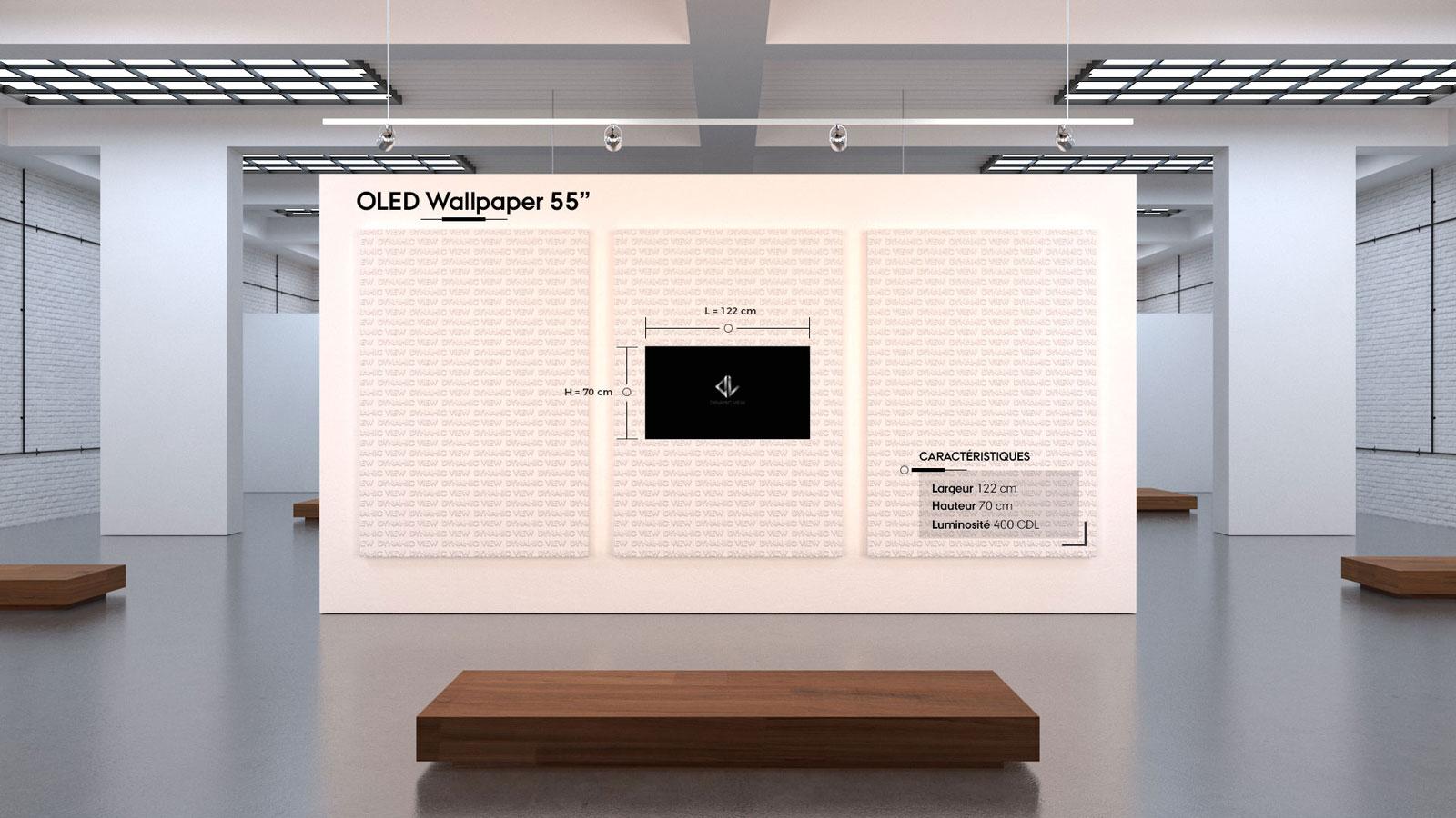 14 OLED Wallpaper 55''