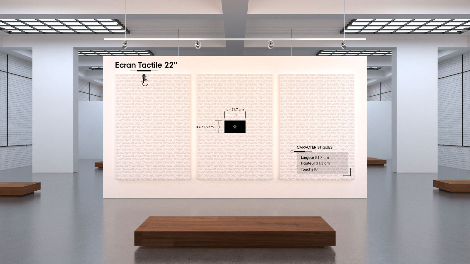 40 Ecran Tactile 22''