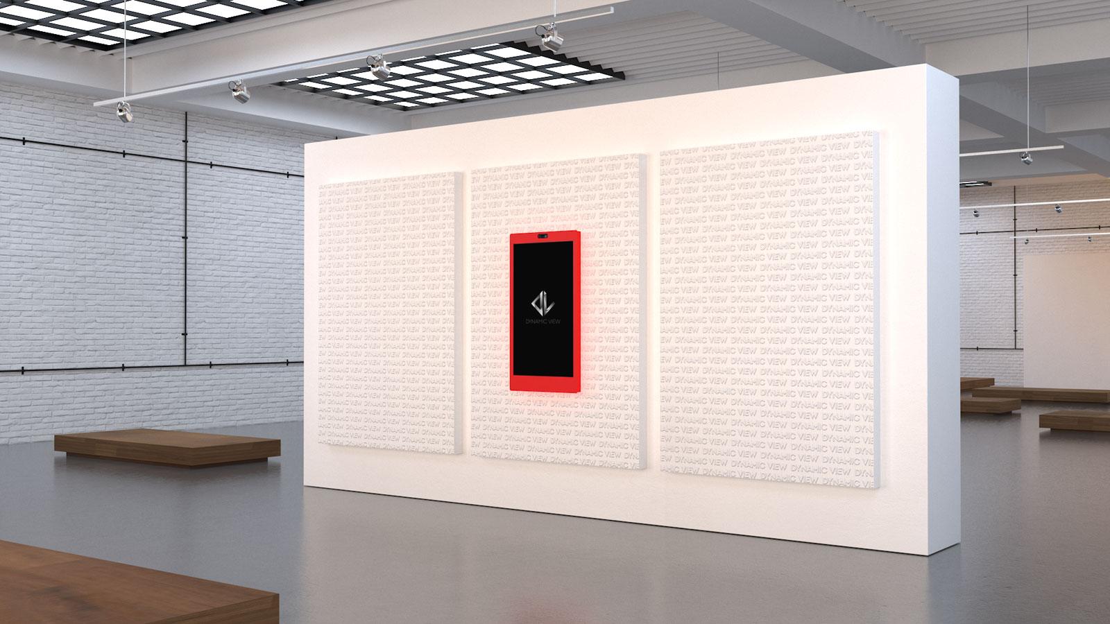 44 Social Mirror 49'' Red