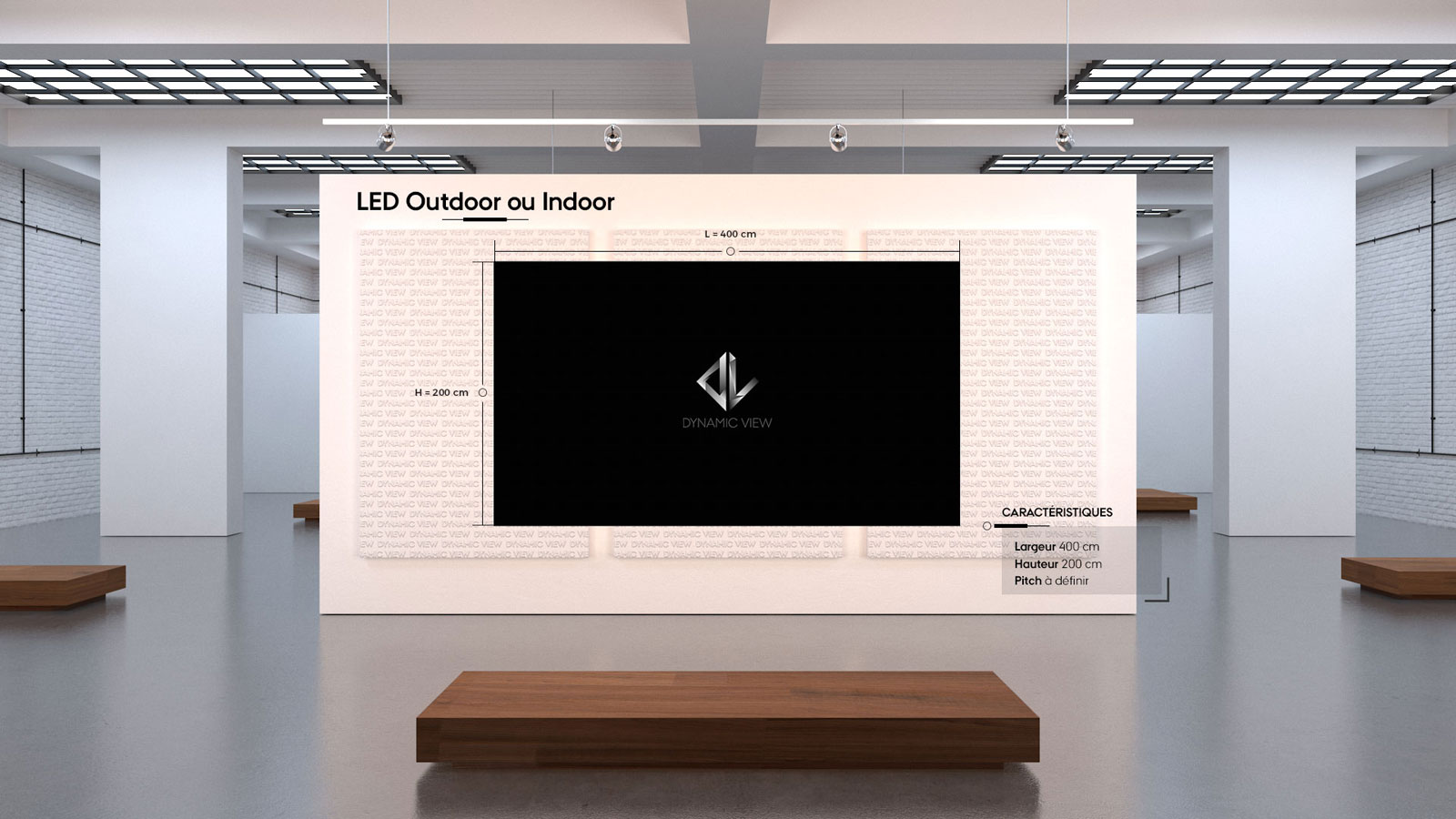 45 LED Outdoor ou Indoor