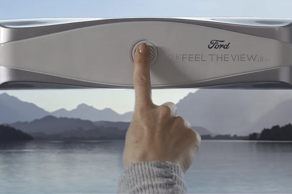 ford feel the view dispositif intelligent