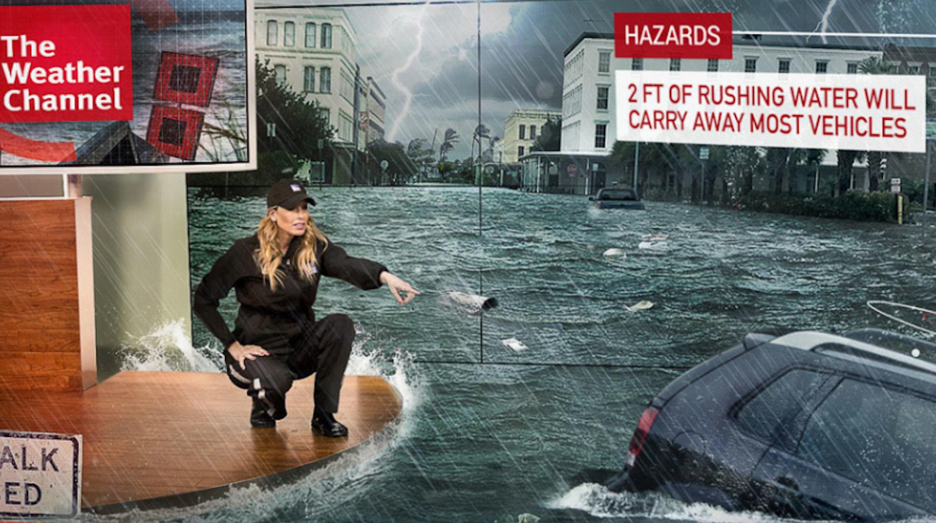 réalité augmentée - météo